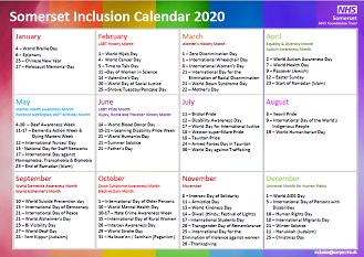 Inclusion Calendar 2020