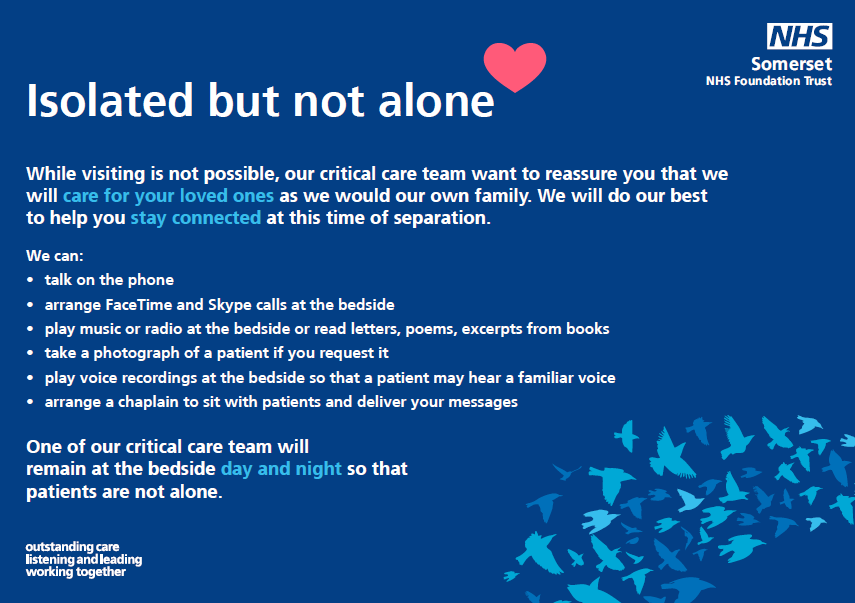 NHS Isolation Notice